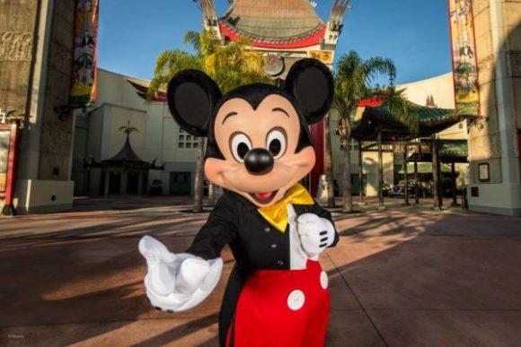 Disney world Mickey Mouse at Hollywood studios