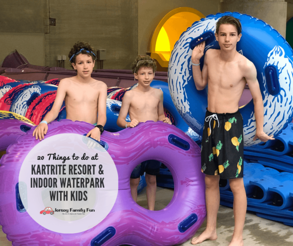 things to do at Kartrite Resort with Kids