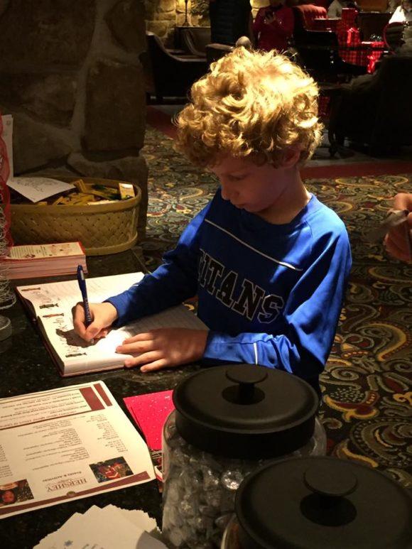 Hershey Lodge Kids Check in 1