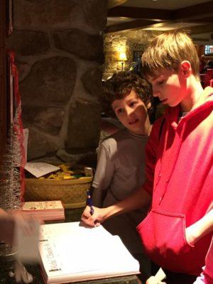 Hershey Lodge Kids Check in