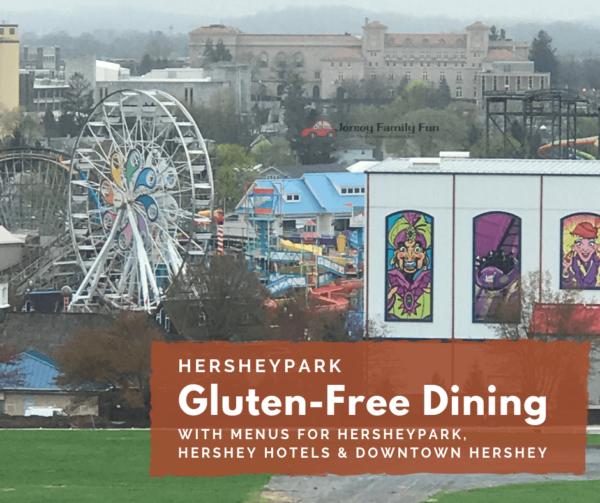 Hersheypark Gluten-Free dining menus