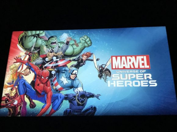 Marvel Universe of Super Heroes at the Franklin Institute