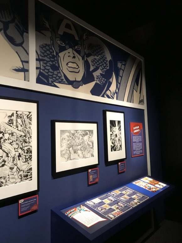 Read comic books at Marvel Universe of Super Heroes at the Franklin Institute