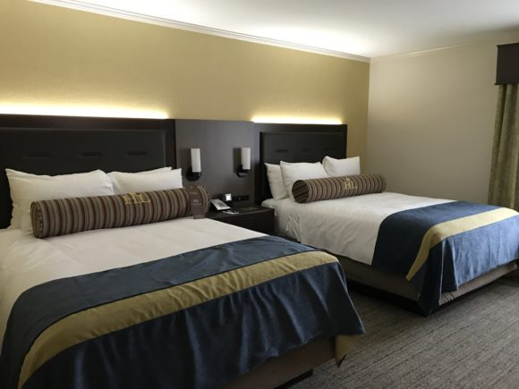 A look at the newly remodeled Hershey Lodge hotel rooms.