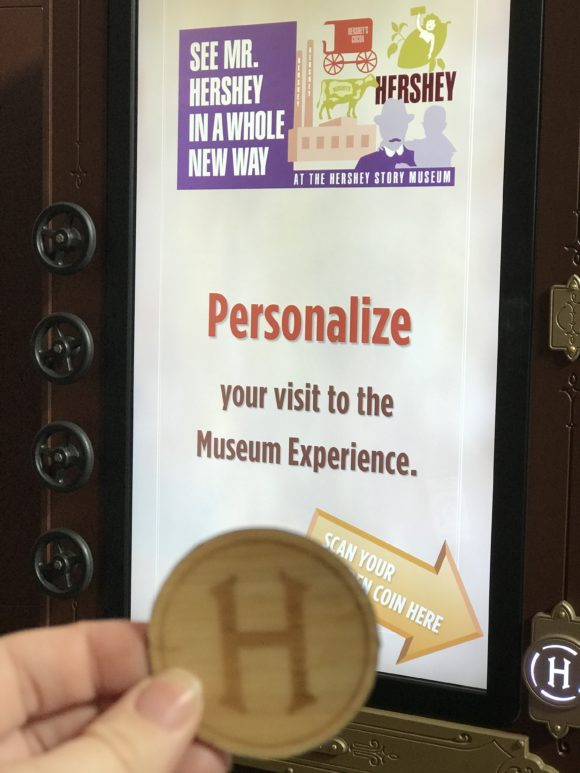 Personalize your free experience at the Hershey Story Museum