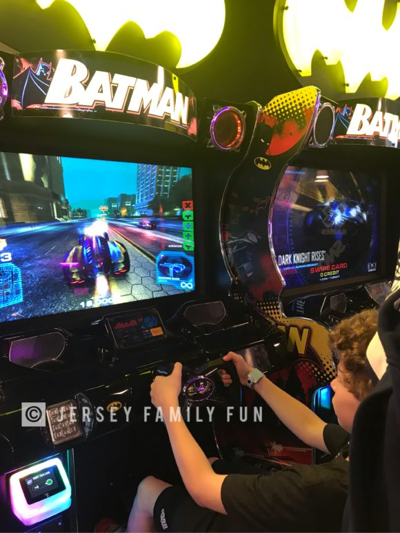 Playing Batman in the Kartrite Arcade