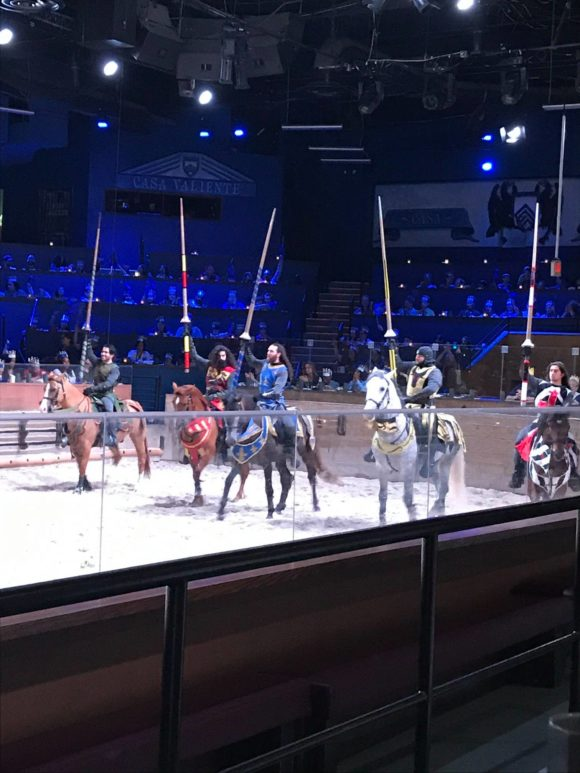 Medieval Times New Jersey jousting and knights B