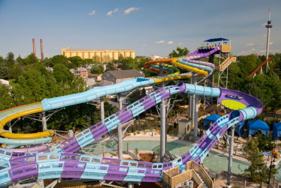 New Attractions to the Hersheypark boardwalk waterpark