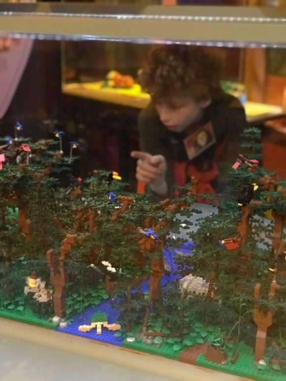 Philadelphia Zoo tropical rainforest is part of the Lego Creatures of Habitat