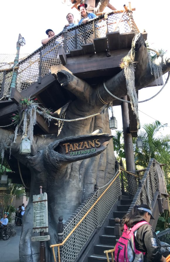 Tarzan's Treehouse is a secret playground at Disneyland