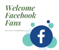 Welcome Facebook Fans image for Jersey Family Fun readers