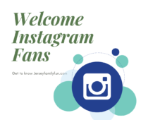 Welcome Instagram Fans image for Jersey Family Fun readers