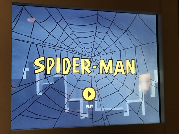 Watch an episode of Spiderman at the Marvel Universe of Super Heroes at the Franklin Institute