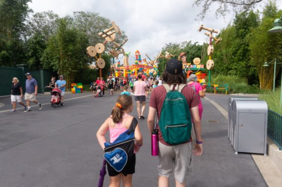 Disney World with teens and kids