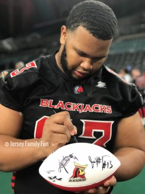 Atlantic City Blackjacks player glen haisley