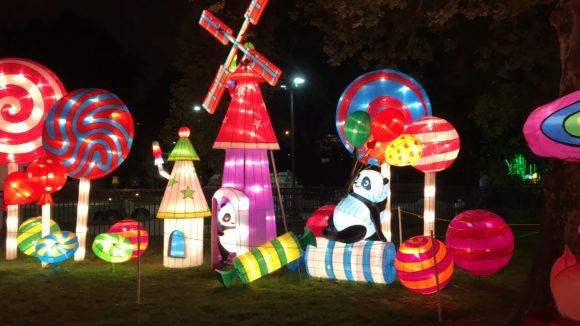 Candy World at the Philadelphia Chinese Lantern Festival