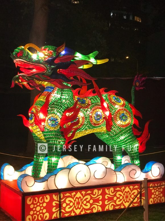 The Kylin lantern at the Philadelphia Chinese Lantern Festival