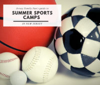 an image of sports balls for a blog post about summer sports camps in New Jersey