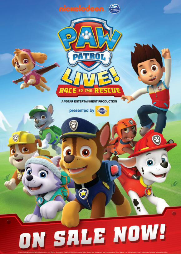 Poster for Paw Patrol Live Race to the Rescue