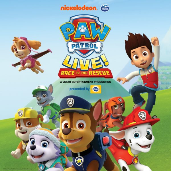 Banner ad for Paw Patrol Live Race to the Rescue