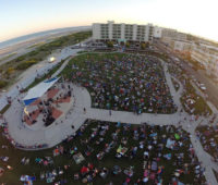 ildwood Crest Summer Concerts at Centennial Park Aerial View