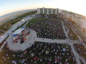 ildwood Crest Summer Concerts at Centennial Park Aerial View
