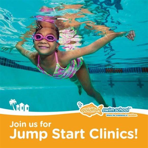 ad for goldfish swim school swim lessons in NJ