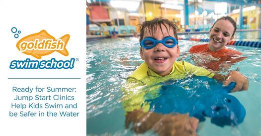 Goldfish swim school summer swim lessons 2