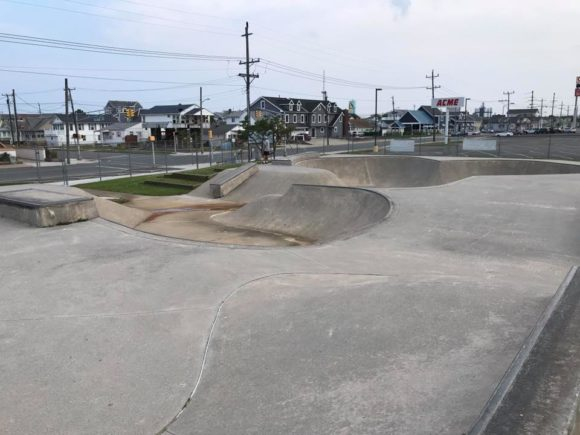 Wildwood Skateboarding Park at the at Albert J. Allen Memorial Park