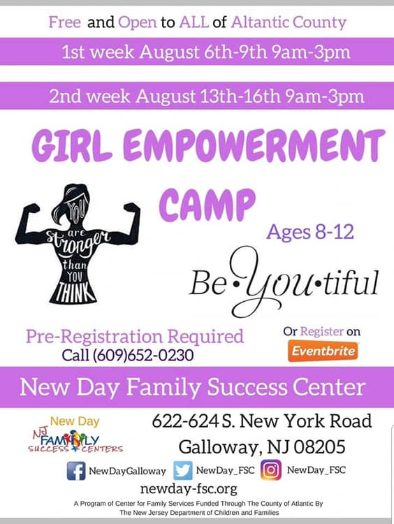 Girl Empowerment Camp at NDFSC