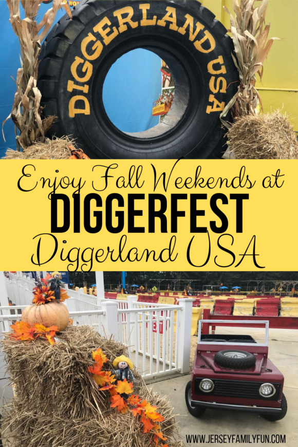Enjoy south Jersey fall festivals at Diggerland USA.