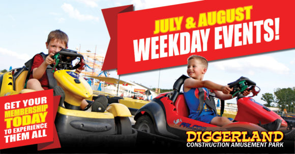 Diggerland Weekday Events