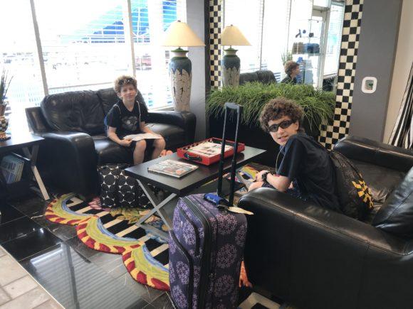 Hotel Lobby at the Adventurer Oceanfront Inn hotel in Wildwood Crest