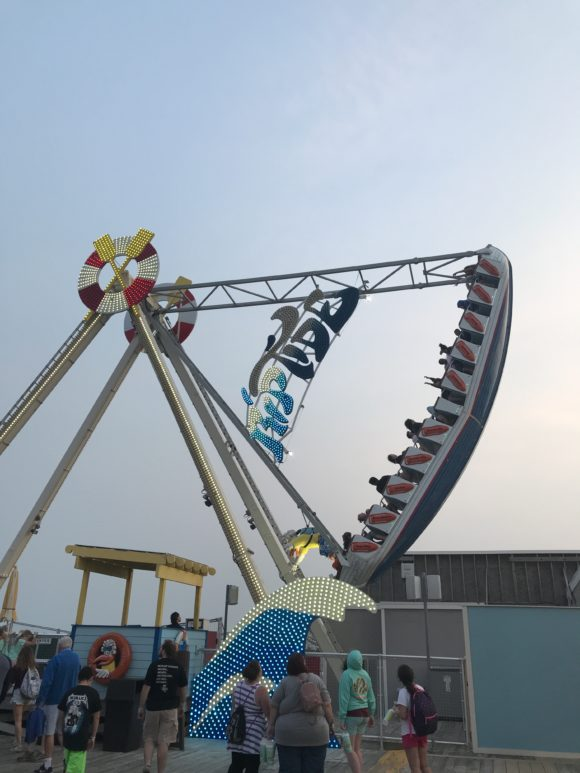 Riptide ride at Morey's Piers in Wildwood