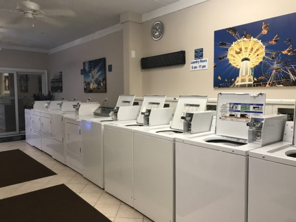 washers and dryers at the Adventurer Oceanfront Inn hotel in Wildwood Crest