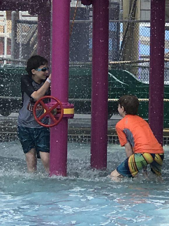 Splash Zone Water Park in Wildwood.