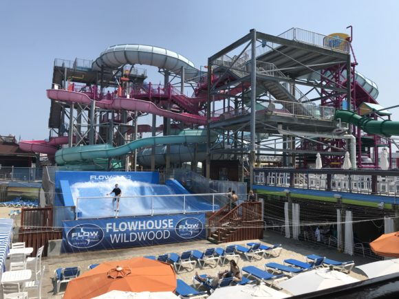 Splash Zone Water Park in Wildwood