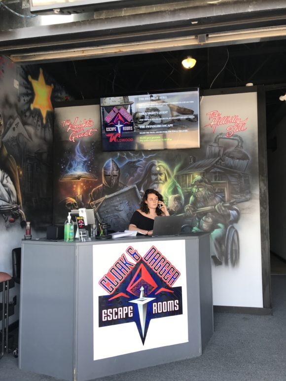 Cloak and Dagger Escape Rooms in Wildwood