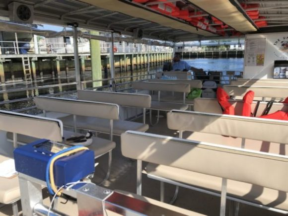 Tuckerton Seaport boat tours provide a way to ride a boat in New Jersey