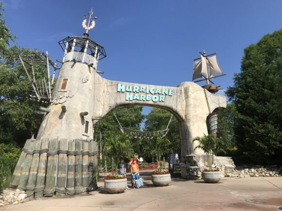 Entrance to Hurricane Harbor at Six Flags Great Adventure in Jackson New Jersey