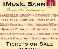 Music barn concerts