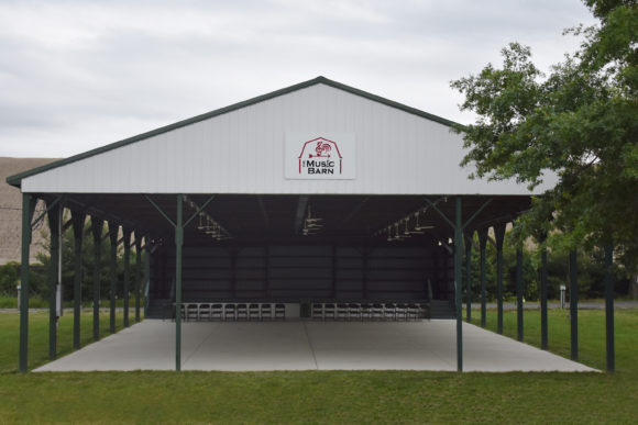 Music Barn outdoor pavilion