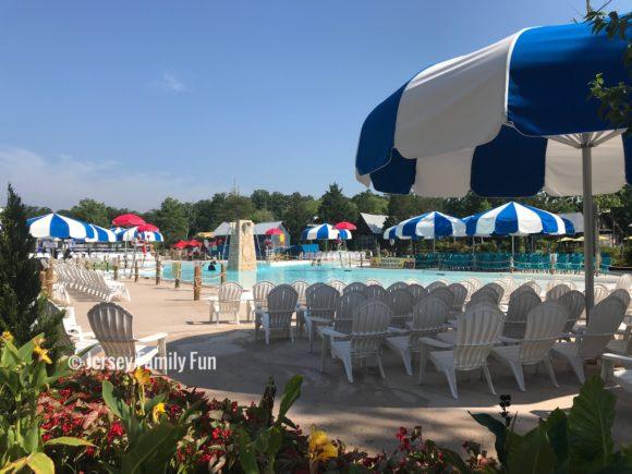 Six Flags Hurricane Harbor's new pool at Calypso Springs
