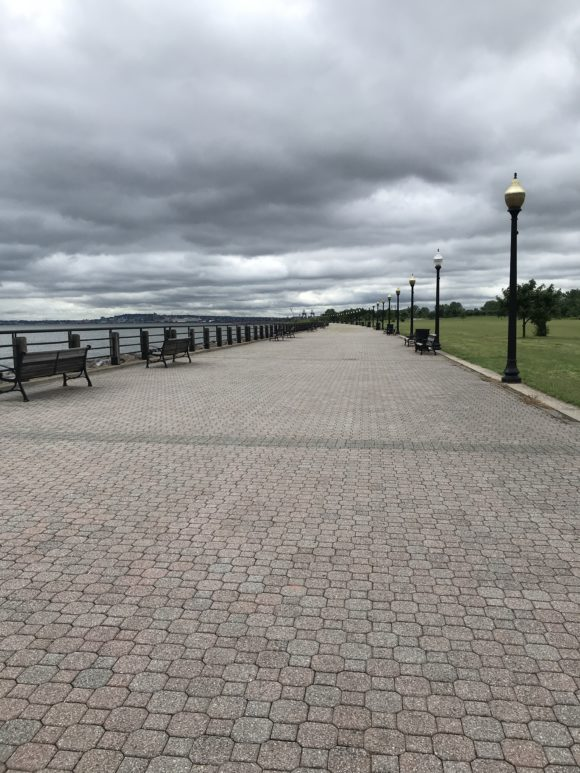 Husdon River Waterfront Walkway at Liberty State Park
