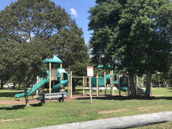 Visit the playground at John F. Kennedy Park in somers point with kids