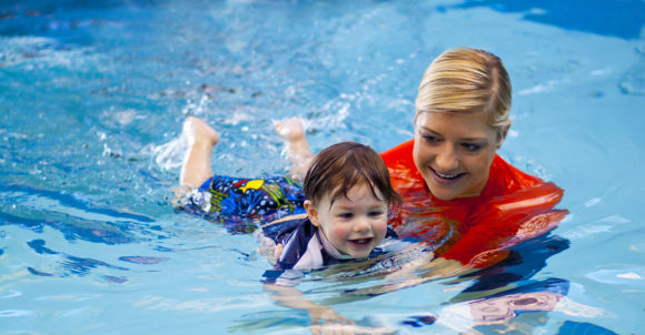 Bear Paddle Swim School has swimming lessons in turnersville for babies