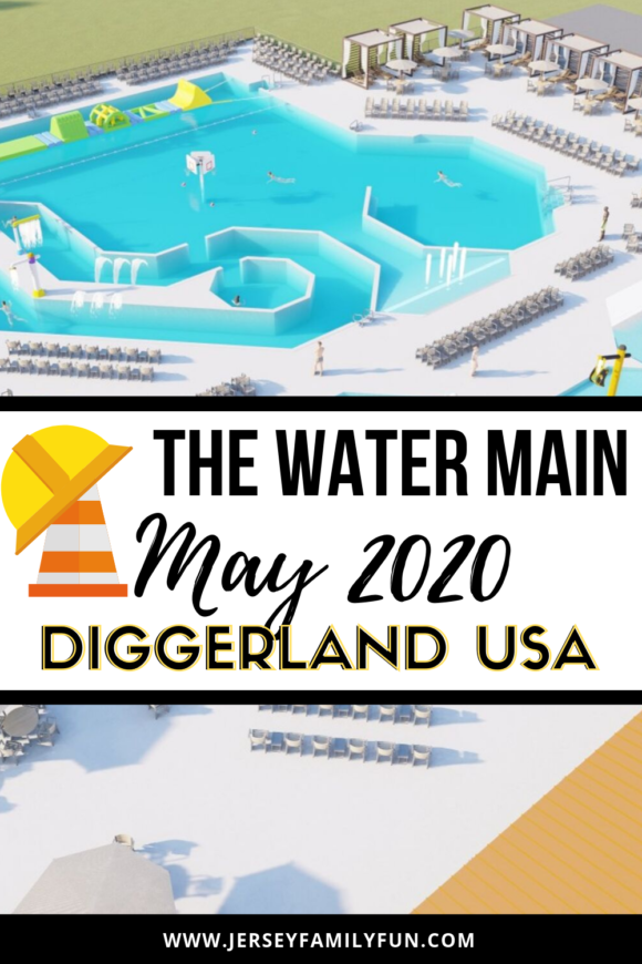 Pinterest image for Diggerland Waterpark