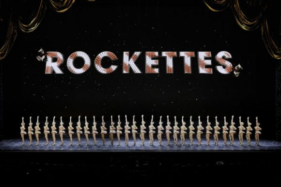 The Rockettes on stage