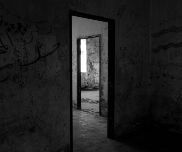 passageways in a haunted house