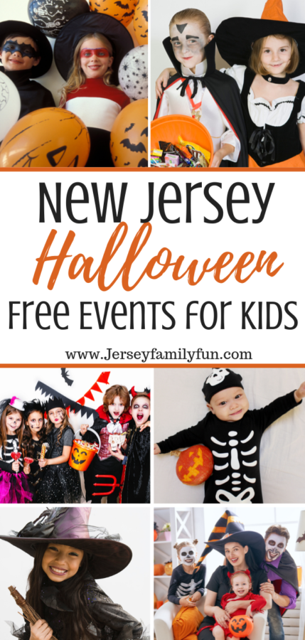 Free Halloween events in New Jersey